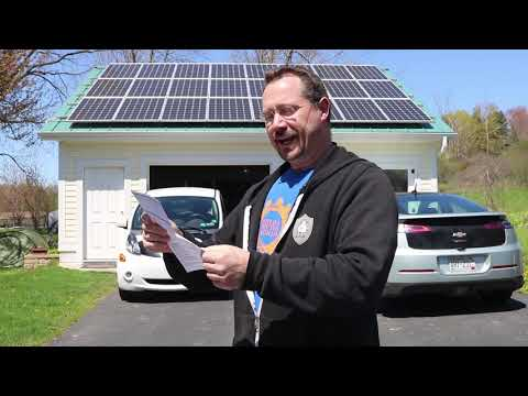 Solar Savings! April Electric Bill is NEGATIVE