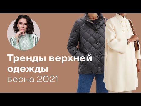 Тренды Верхней Одежды Весна 2021!