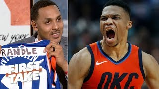 The Knicks need Russell Westbrook – Ryan Hollins   First Take