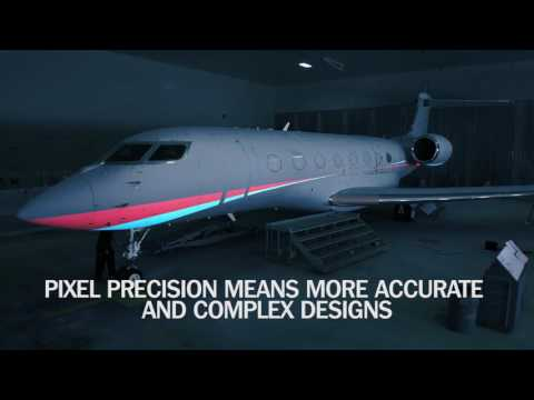 Gulfstream's 3-D Paint Projection Process