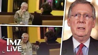 Mitch McConnell Under Attack At Restaurant!   TMZ Live