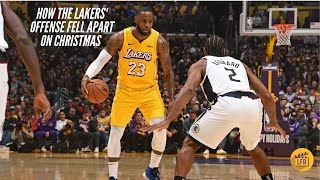 How the Lakers Offense Fell Apart on Christmas