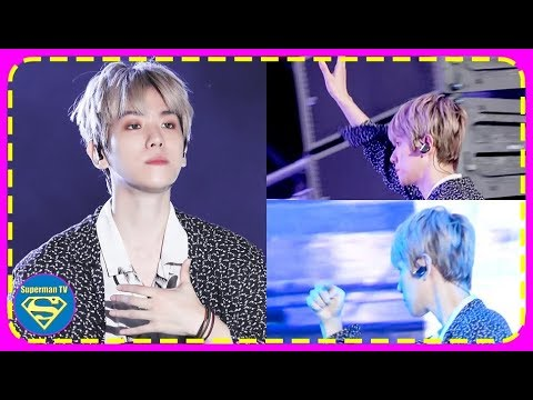 EXO Baekhyun was Seen Professionally Handling a Technical Malfunction Whilst Continuing the Stage