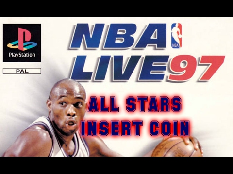 NBA Live 97 (1996) - PlayStation - All-Star Game