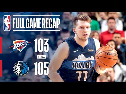 Full Game Recap: Thunder vs Mavericks | Late Run Wins It For Mavs