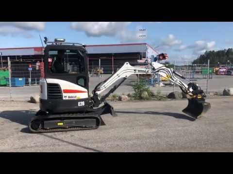 Köp Bobcat E26 med tiltrotator + redskap på Klaravik