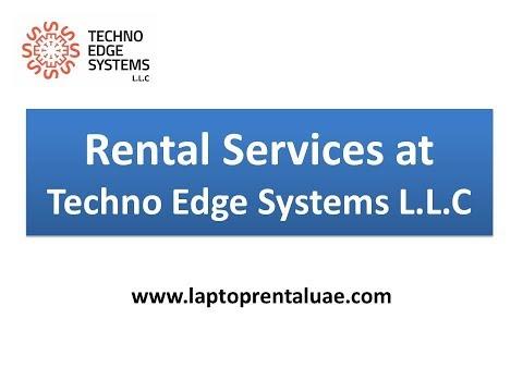 Rental Services at Techno Edge Systems L.L.C ...