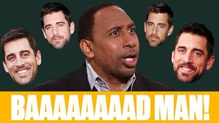 The best of Stephen A.'s Aaron Rodgers rants: 'He's a baaaad man!' | First Take