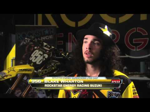 Supercross LIVE! 2012 - Team Rockstar Energy: Blake Wharton and Hunter Hewitt