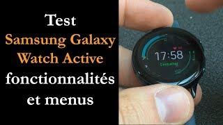 Vidéo-Test : Test Galaxy Watch Active : polyvalente et pas chère