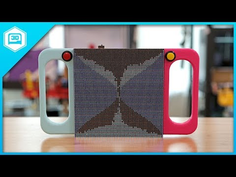BIG LED Sand Toy – Raspberry Pi RGB LED Matrix