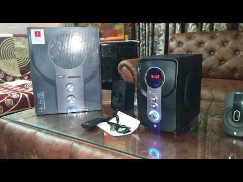 video iball Hi-Basss Bluetooth Laptop/Desktop Speaker Review<span class=
