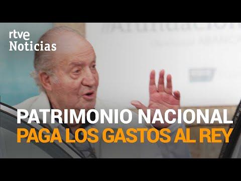 PATRIMONIO asume los costes de los asistentes del rey emérito a petición de ZARZUELA | RTVE Noticias