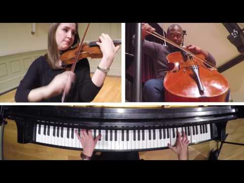 Brahms - Conservatory GoPro Recording (The Lithe Piano Trio)