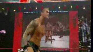 WWE RAW Randy Orton destroying everybody