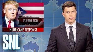 Weekend Update on Hurricane Maria - SNL