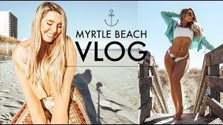 Spring Break Myrtle Beach Vlog | Work from the beach