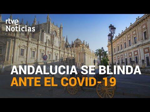 ANDALUCÍA endurece sus restricciones ante las altas cifras de contagios | RTVE Noticias
