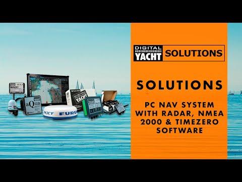 Digital Yacht Solutions - PC Nav System with Radar, NMEA 2000 & Timezero Software - Digital Yacht