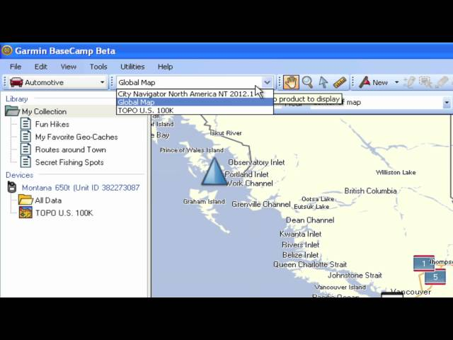 BaseCamp for PC Tutorial Videos Garmin United States