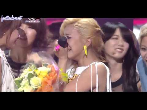 [ENG SUB] 110429 f(x) 1st win on KBS Music Bank