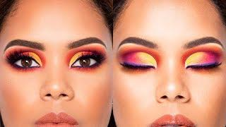 Tutorial de Maquillaje Colorido /Multicolor /Tecnica Mmmmitchell