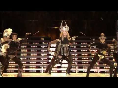Madonna Super Bowl Half Time Show 2012 HD - YouTube