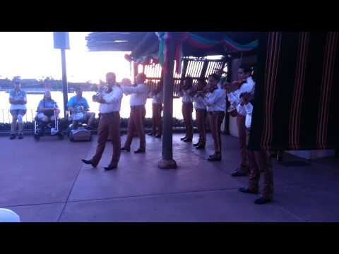 EPCOT - World Showcase - Mexico - Mariachi Cobre
