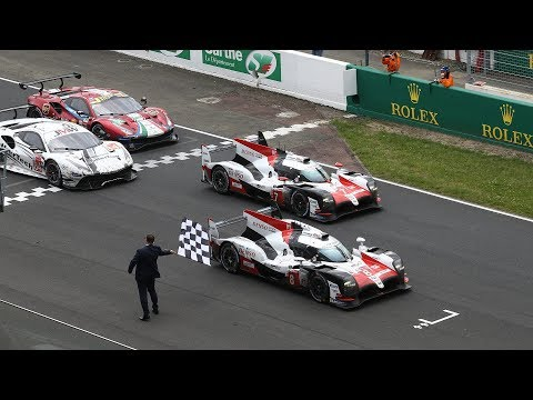 Toyota Gazoo Racing at the 24 Hours of Le Mans 2018