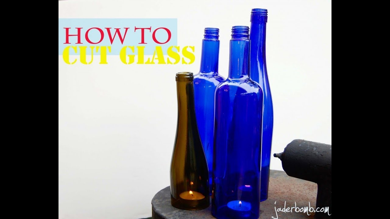 how to cut glass wine bottle cutting youtube. Black Bedroom Furniture Sets. Home Design Ideas
