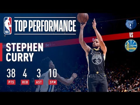 Stephen Curry Returns with 38 Pts and 10 Threes | December 30, 2017
