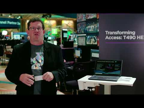 ThinkPad T490 Healthcare Edition In Action at Accelerate 2019