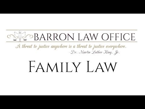 Barron Law Office - Family Law & Divorce