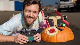 I Made A Pumpkin Hovercraft