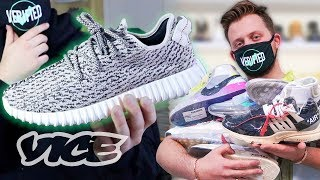 Exposing Celebrities' Fake Sneakers and the Counterfeit Hype Economy: Yeezy Busta
