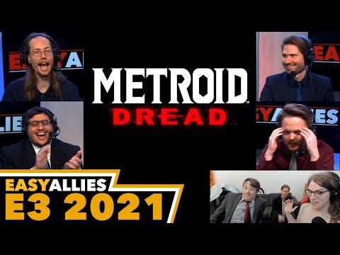 Metroid Dread E3 Reveal - Easy Allies Reactions