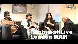 Prabhas, Anushka Shetty comment on Rajamouli..