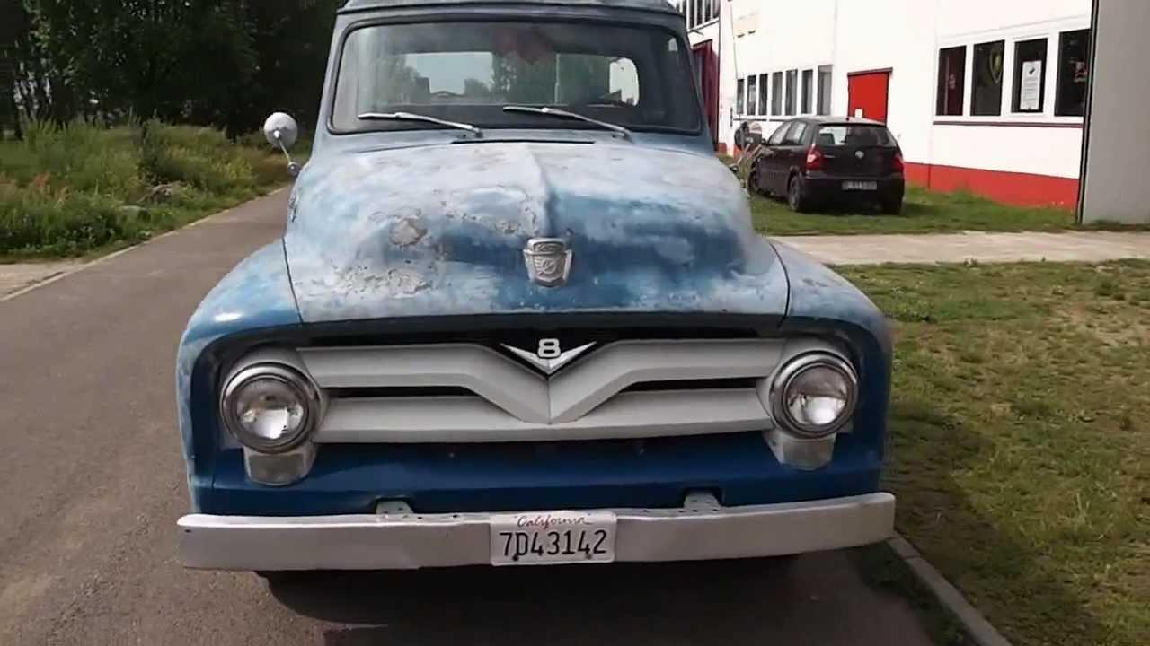 1955 ford f250 stepside longbed pickup v8 von special cars. Black Bedroom Furniture Sets. Home Design Ideas