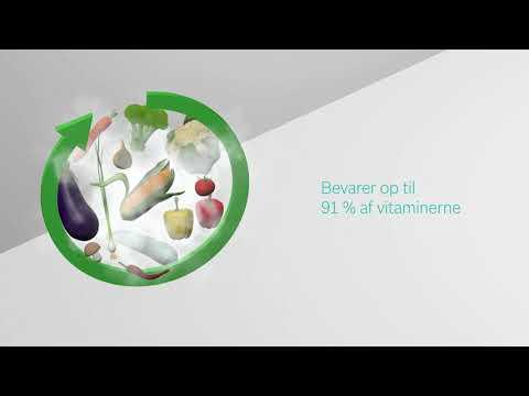 Bosch dampovne: Sund mad som beholder vitaminer og smag.