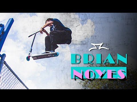 Video AO SCOOTER Deck BRIAN NOYES SIGNATURE 6.25 Black