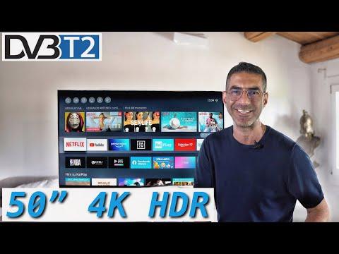 UNA NUOVA QLED 50 POLLICI 4K HDR SMART T …