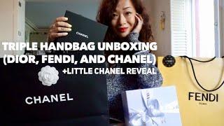 Triple Handbag Unboxing- Dior, Fendi, and Chanel | Wenwen Stokes