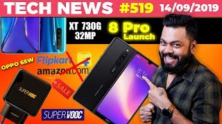 Redmi 8 Pro Launch, Realme XT 730G w/ 32MP😃, Flipkart/Amazon Sale Ban😲, OPPO Reno Ace 65W-TTN#519