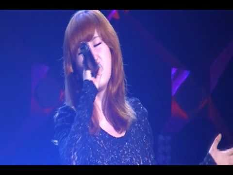 2010.09.11 SMTOWN Live in Shanghai - Zhang Li Yin - Moving On Fancam