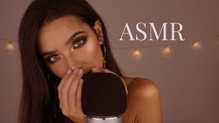 ASMR Extra Close-up Whispering | Soft Mic Scratching, Mouth Sounds, Trigger Words