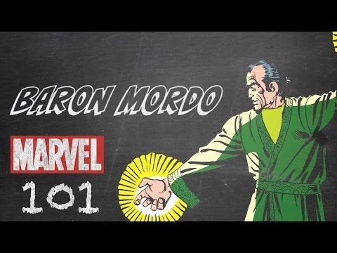 An Enemy of the Doctor – Baron Mordo – Marvel 101