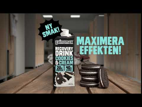 Gainomax Cookies&cream 1920x1080 Prores