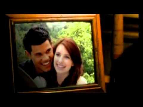 Jacob e Renesmee Trailer Amanhecer parte 2 OFICIL