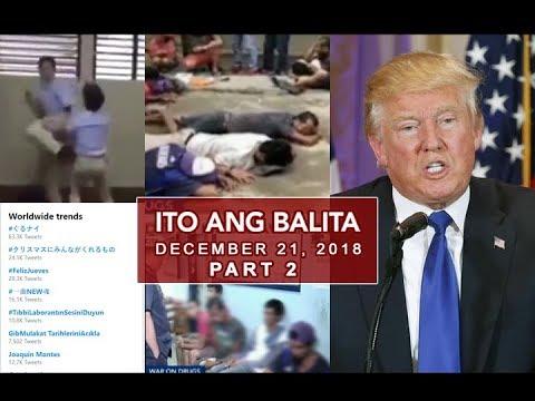 UNTV: Ito Ang Balita (December 21, 2018) PART 2
