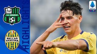 Sassuolo 3-3 Hellas Verona   Sassuolo Score 97th Minute Equaliser In 6-Goal 2nd Half!   Serie A TIM
